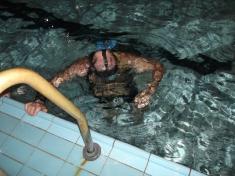 Plavecký bazén - nácvik 2012